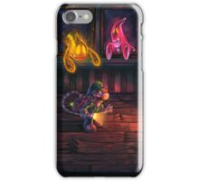 Luigi's mansion painting iPhone Case/Skin