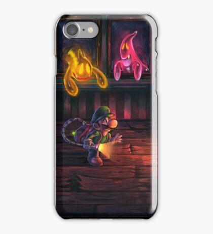 Luigi's mansion painting iPhone Case/Skin