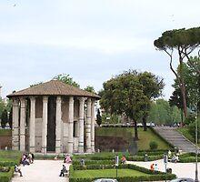 Tempio de Ercole Vincitore, Roma by Ben Fatma Marc