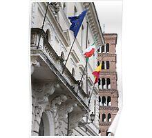 Santa Maria Cosmedin e Teatro Dell'Opera, Roma Poster