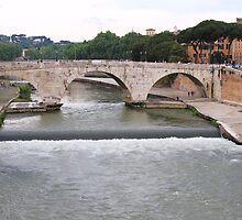 Ponte Castro, Roma by Ben Fatma Marc