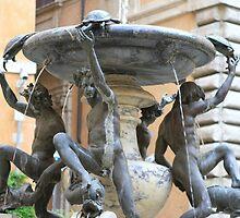 Fontana dei Tartugge, Roma by Ben Fatma Marc