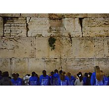 The Western Wall Photographic Print