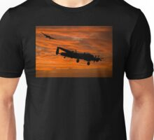 Welcome Home - Avro Lancasters at Dawn Unisex T-Shirt