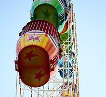Ferris wheel by Jenny Clift