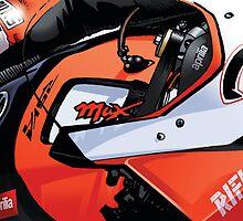 Max Biaggi - 2012 Aprilia RSV4 by quigonjim