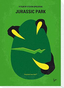 No047 My Jurasic Park minimal movie poster by Chungkong
