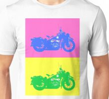 Warhorse, pink and yellow Unisex T-Shirt