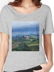 Tuscan countryside Women's Relaxed Fit T-Shirt