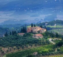 Tuscan countryside Sticker