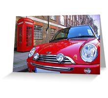 Mini One - London Greeting Card