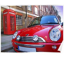 Mini One - London Poster