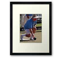 M.B.A. Bowler no. a337 Framed Print