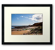 St Mary's Island from Old Hartley Framed Print
