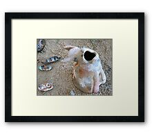 Hungry Kiln Framed Print