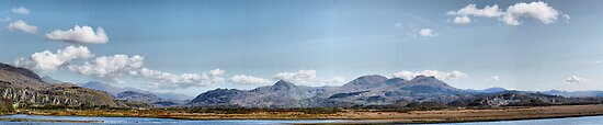 Snowdonia National Park by Irene  Burdell