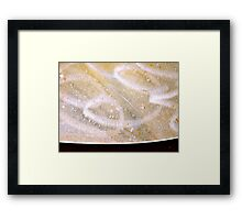 Words Fail Me Framed Print
