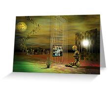 illusions of reality Greeting Card