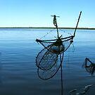 Ghost Net Boat by Vikki-Rae Burns