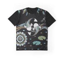Lucky Koi Mandala Graphic T-Shirt
