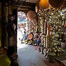 Copper and brass, Kathmandu by John Spies