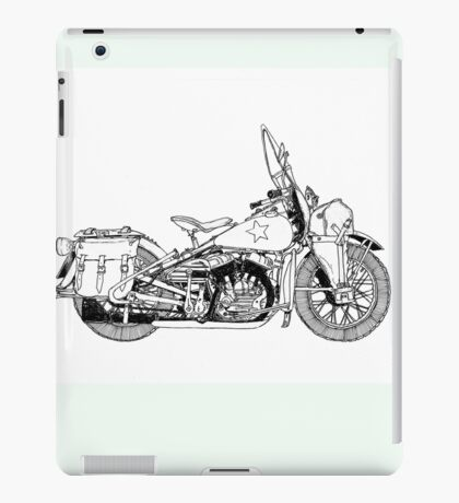 WLA pen and ink iPad Case/Skin
