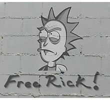 Rick and Morty-- Free Rick  Photographic Print