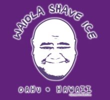 Hawaii 5-0 Waiola Shave Ice Logo (Purple + Halo) by Sharknose