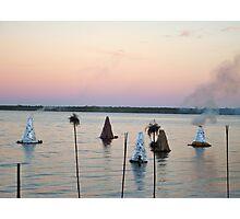 Sunset Kilns Photographic Print