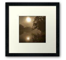 silentio Framed Print
