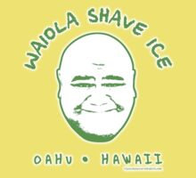 Hawaii 5-0 Waiola Shave Ice Logo (Green + Halo) by Sharknose