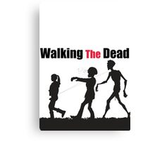 Walking The Dead Canvas Print