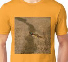 Pheasant in flight Unisex T-Shirt