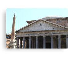 Pantheon, Roma Canvas Print