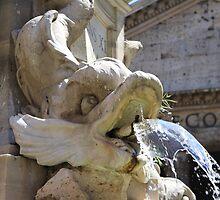 Triton e Pantheon, Roma by Ben Fatma Marc