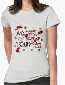 Imaginary Friend Wars Womens Fitted T-Shirt