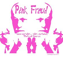 "Pink Freud ""P-ink Blot"" by EyeMagined"