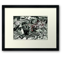 Tupac isnt dead he lives in our Heads Framed Print
