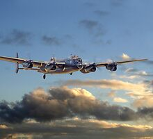 Lancaster - Dawn Light by warbirds