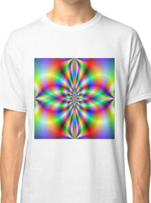 Cross in Neon Classic T-Shirt