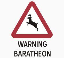 Warning Baratheon (Sticker) by weRsNs