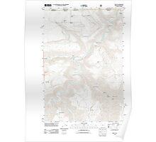 USGS Topo Map Oregon OR Troy 20110914 TM Poster