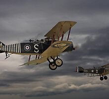 WW1- Bristol Fighter - by Pat Speirs