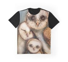 three wise owls Graphic T-Shirt