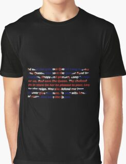 God Save The Queen - UK anthem Graphic T-Shirt