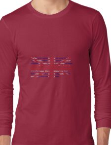 God Save The Queen - UK anthem Long Sleeve T-Shirt