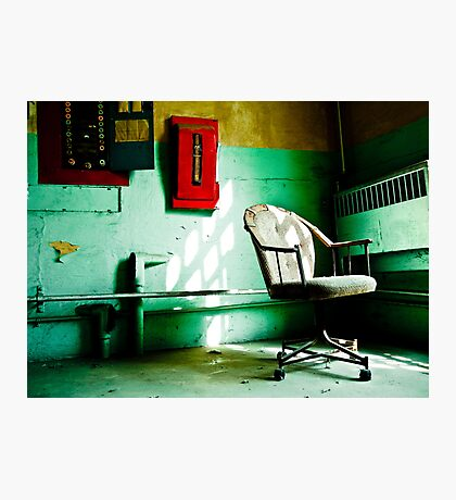 Guard's Chair Boise Old State Penitentiary Photographic Print