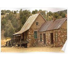 Old Miner's Cabin Poster
