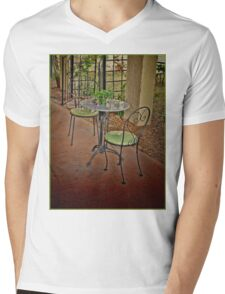 Table and Chairs Mens V-Neck T-Shirt