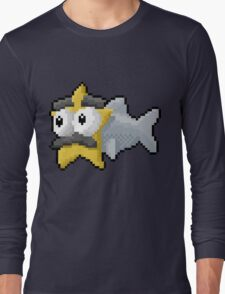 Starfishmanfish pixel tee Long Sleeve T-Shirt